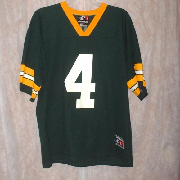 7859d414 Brett Favre Green Bay Packers #4 football jersey